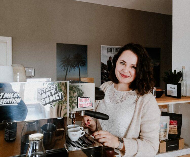 Alexandra Rothe Coffeepreneur